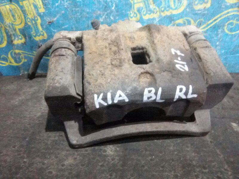 Суппорт Kia Sorento BL D4CB 2003 задний левый
