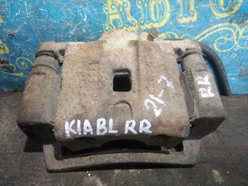 Суппорт Kia Sorento BL D4CB 2003 задний правый