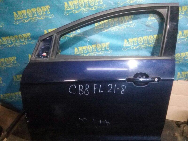 Дверь Ford Focus 3 CB8 ASDA 2011 передняя левая