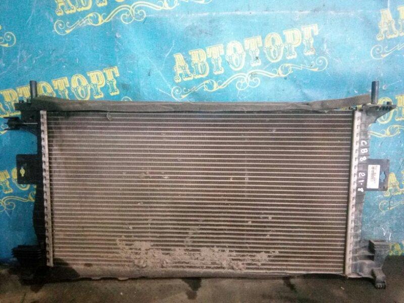 Радиатор основной Ford Focus 3 CB8 ASDA 2011