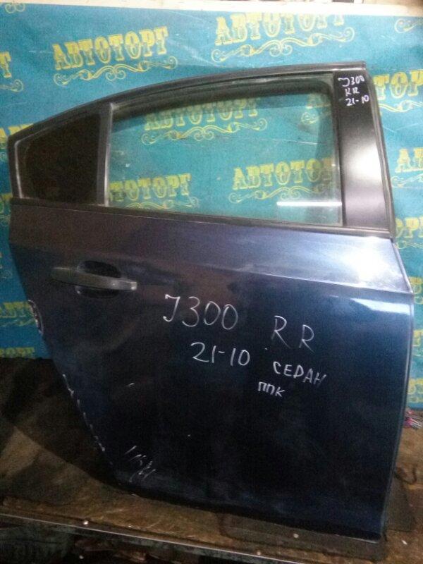 Дверь Chevrolet Cruze J300 F18D4 2010 задняя правая