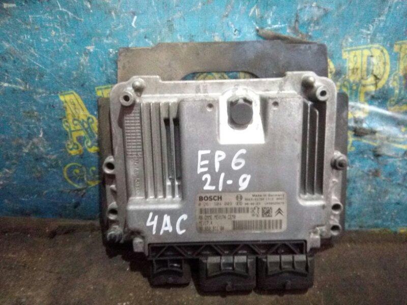 Блок управления двс Peugeot 308 4AC EP6 2008