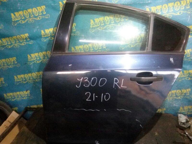 Дверь Chevrolet Cruze J300 F18D4 2010 задняя левая