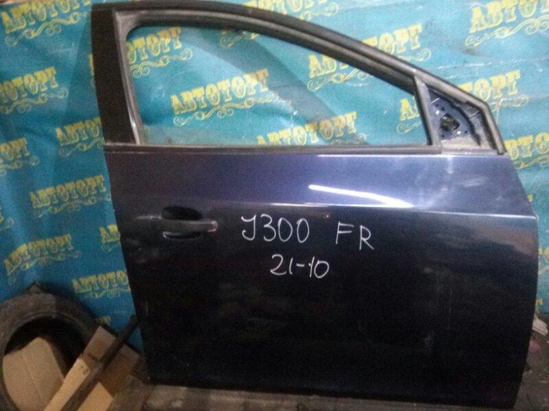Дверь Chevrolet Cruze J300 F18D4 2010 передняя правая