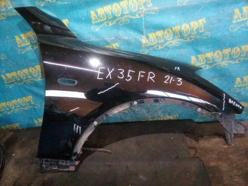 Крыло Infiniti Ex35 J50 VQ35HR 2008 переднее правое