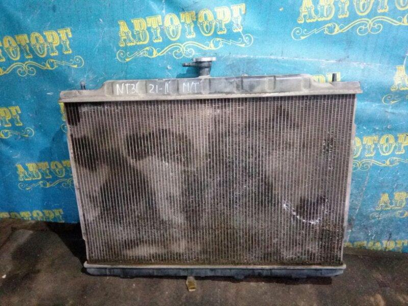 Радиатор основной Nissan Xtrail NT31 MR20 2008