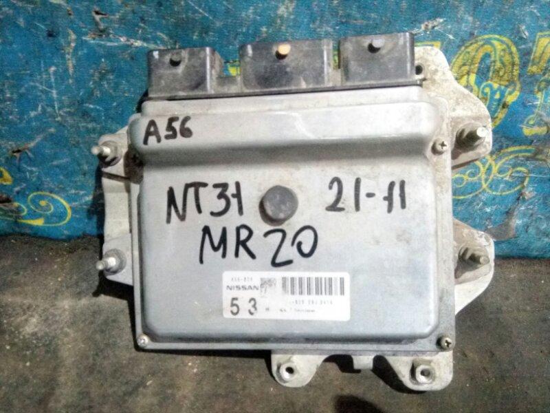 Блок управления двс Nissan Xtrail NT31 MR20 2008