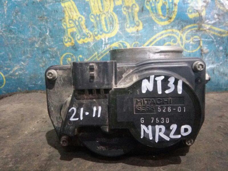 Дроссельная заслонка Nissan Xtrail NT31 MR20 2008