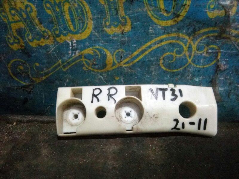 Крепление бампера Nissan Xtrail NT31 MR20 2008 заднее правое