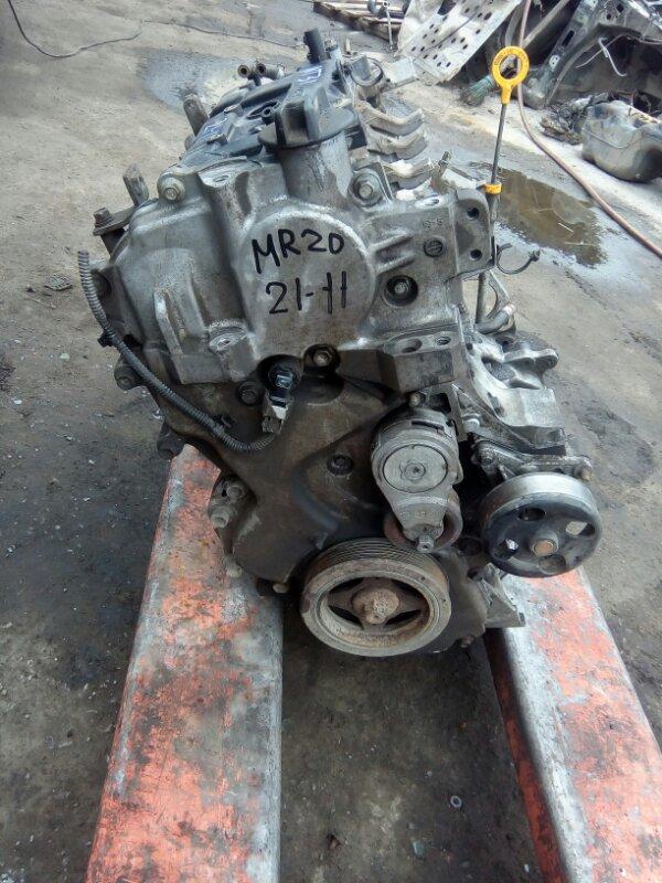 Двигатель Nissan Xtrail NT31 MR20 2008