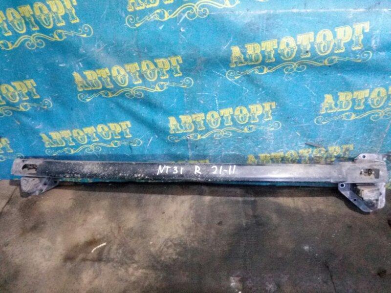 Усиление бампера Nissan Xtrail NT31 MR20 2008 заднее