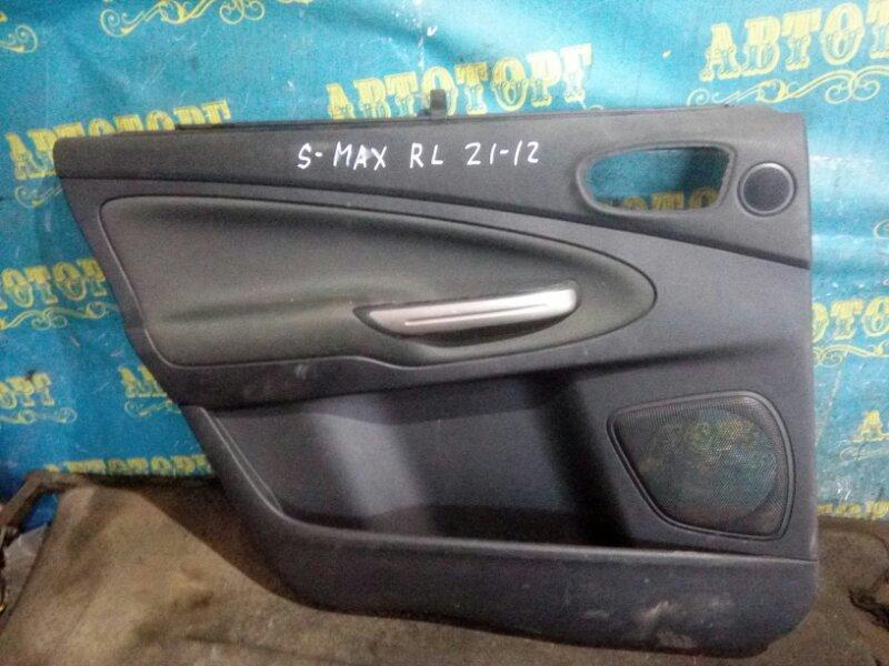 Обшивка дверей Ford S-Max WS AOWA 2006 задняя левая