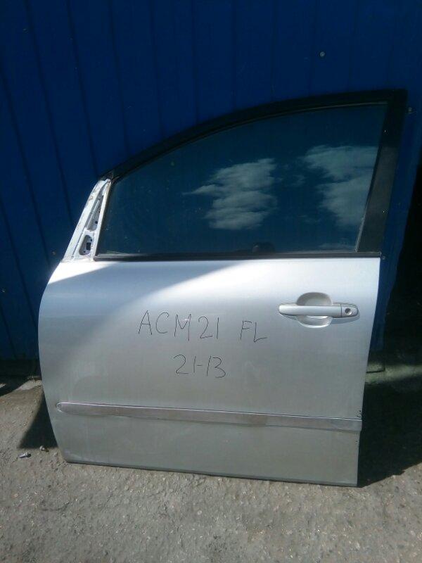 Дверь Toyota Ipsum ACM21 2AZ-FE 2001 передняя левая