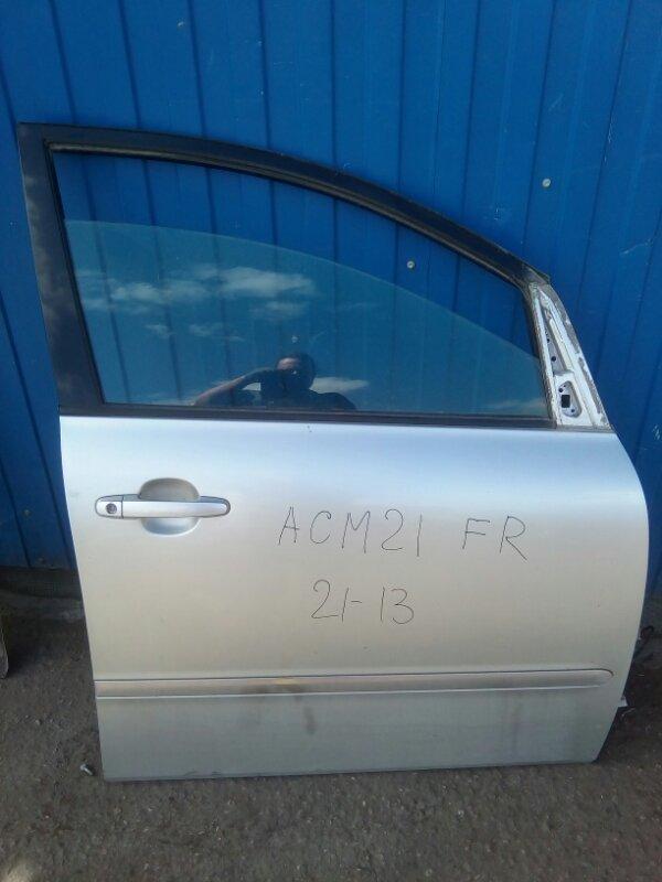Дверь Toyota Ipsum ACM21 2AZ-FE 2001 передняя правая