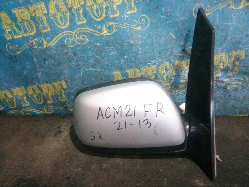 Зеркало Toyota Ipsum ACM21 2AZ-FE 2001 правое