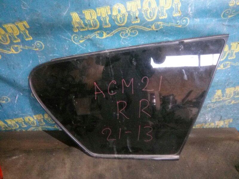 Стекло багажника Toyota Ipsum ACM21 2AZ-FE 2001 заднее правое