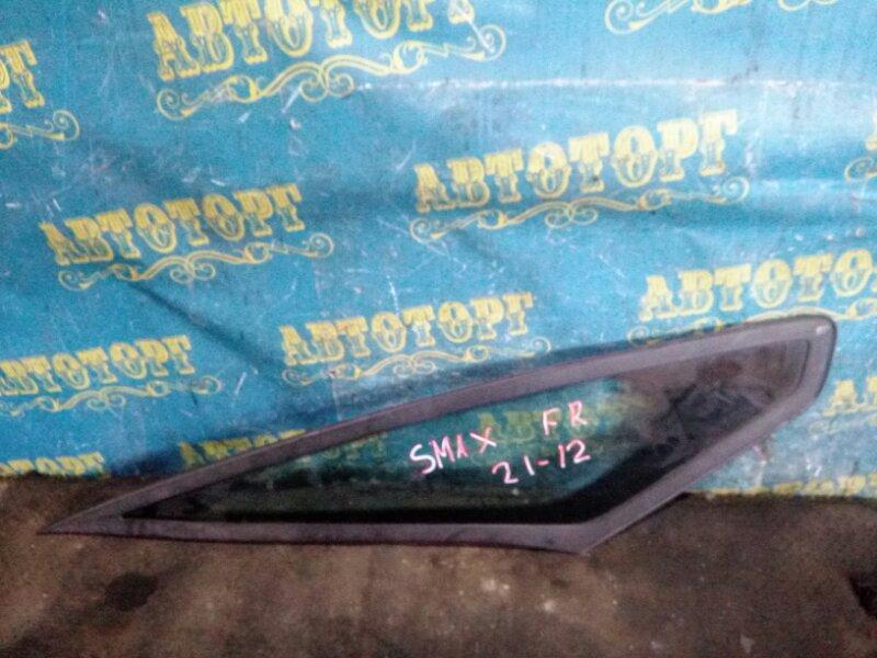 Стекло боковое Ford S-Max WS AOWA 2006 переднее правое