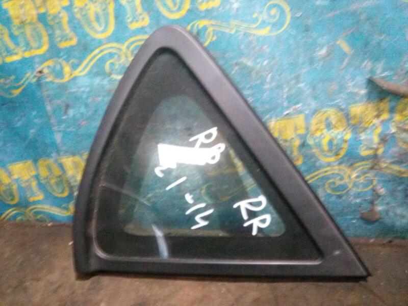 Стекло багажника Hyundai Solaris RB G4FC 2012 правое