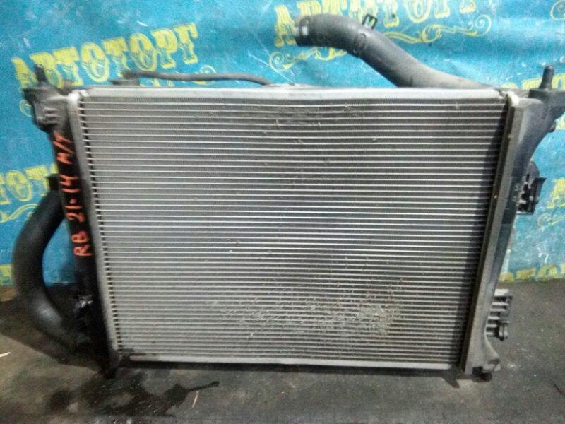 Радиатор основной Hyundai Solaris RB G4FC 2012