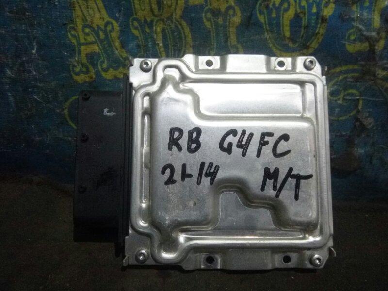 Блок управления двс Hyundai Solaris RB G4FC 2012