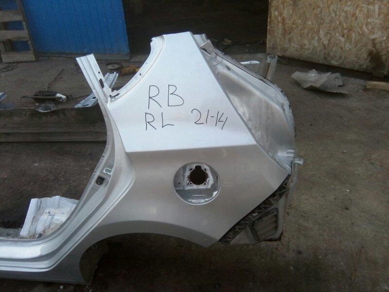 Крыло Hyundai Solaris RB G4FC 2012 заднее левое