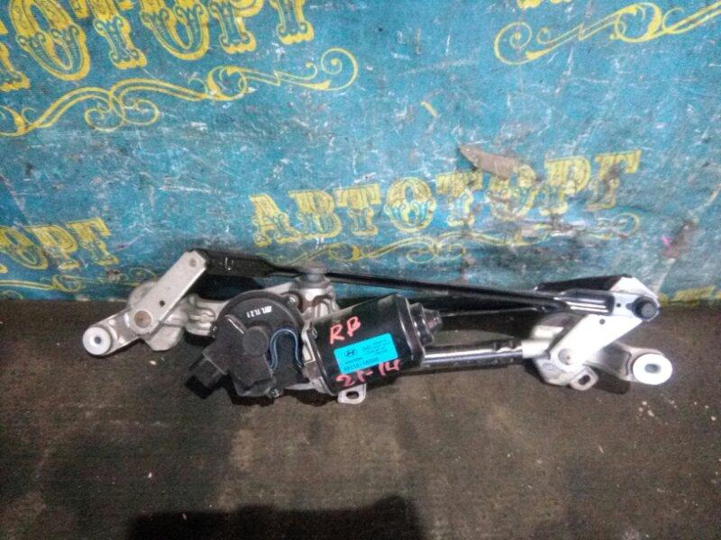 Трапеция дворников Hyundai Solaris RB G4FC 2012