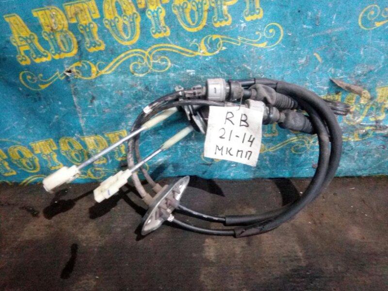 Трос переключения мкпп Hyundai Solaris RB G4FC 2012