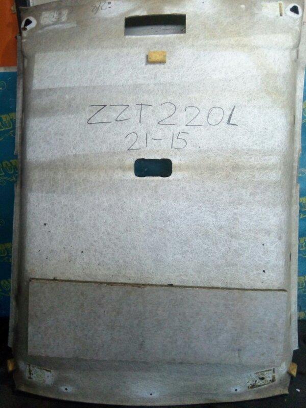 Обшивка потолка Toyota Avensis ZZT220L 3ZZ 2002