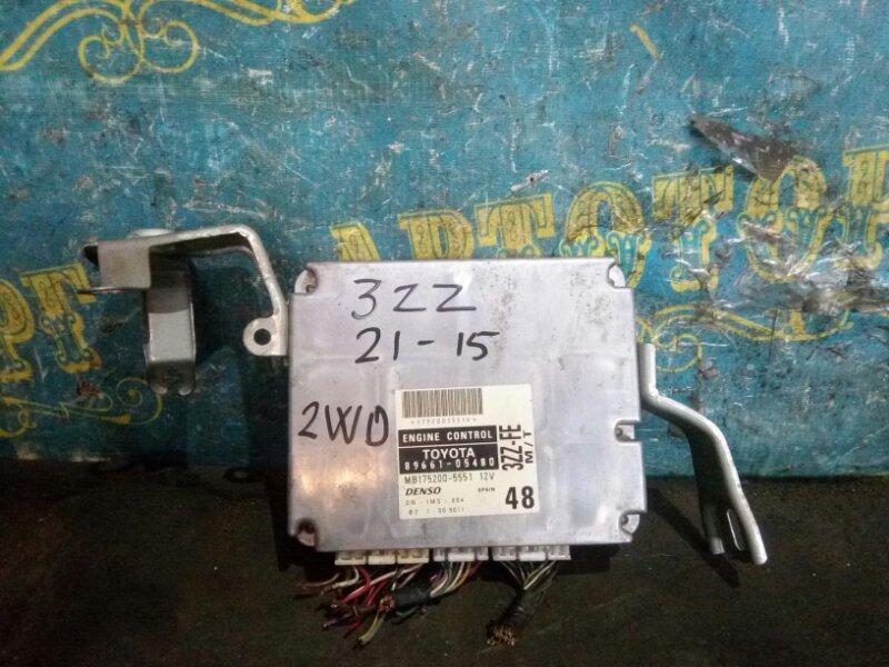 Блок управления двс Toyota Avensis ZZT220L 3ZZ 2002