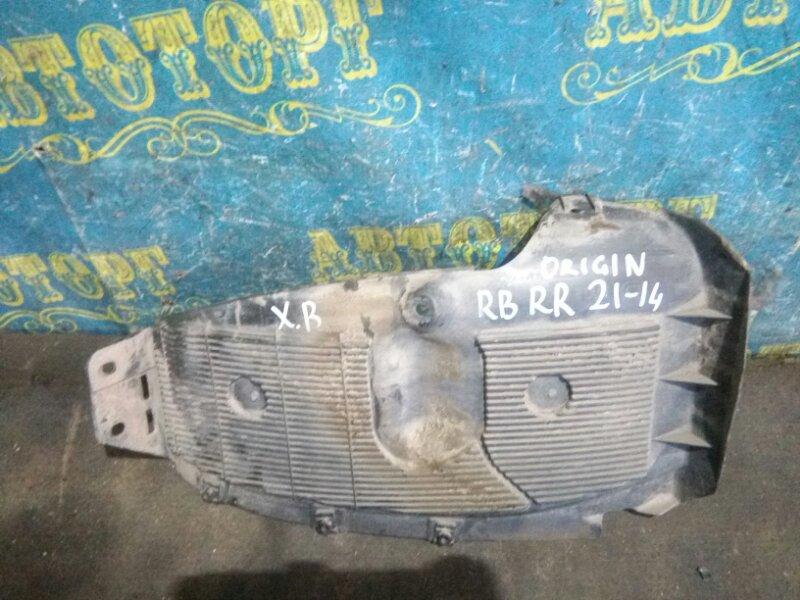 Подкрылок Hyundai Solaris RB G4FC 2012 задний правый
