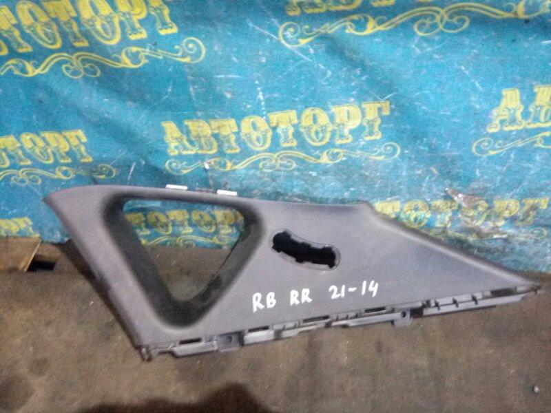 Обшивка багажника Hyundai Solaris RB G4FC 2012 задняя правая