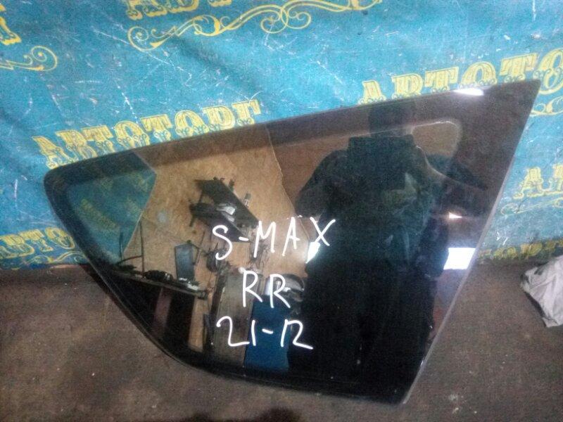 Стекло багажника Ford S-Max WS AOWA 2006 заднее правое