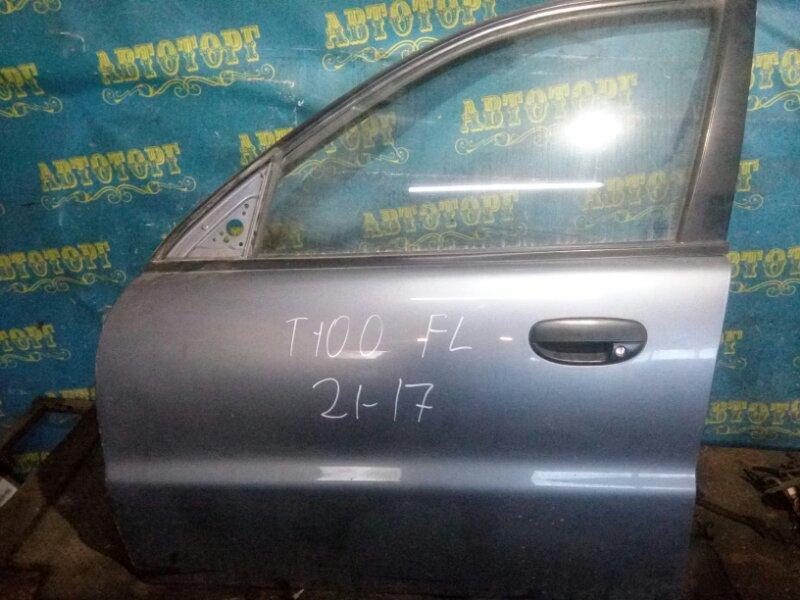 Дверь Chevrolet Lanos T100 A15SMS 2007 передняя левая