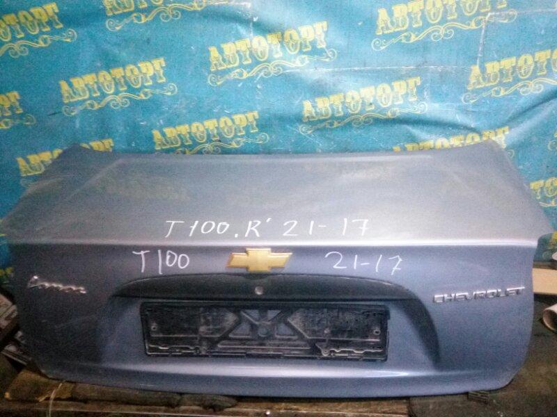 Крышка багажника Chevrolet Lanos T100 A15SMS 2007