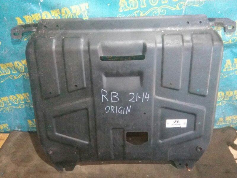 Защита двигателя Hyundai Solaris RB G4FC 2012
