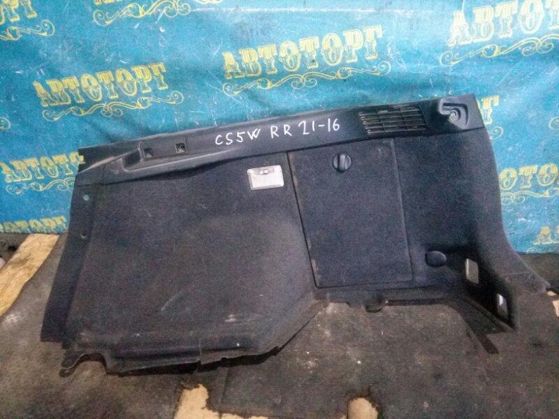 Обшивка багажника Mitsubishi Lancer Cedia CS5W 4G93 2001 задняя левая
