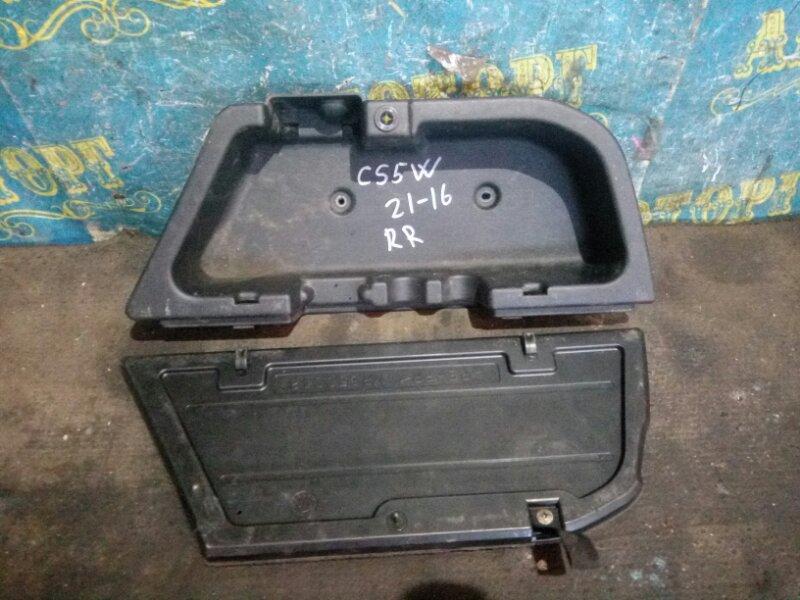Ящик для инструментов Mitsubishi Lancer Cedia CS5W 4G93 2001 задний правый