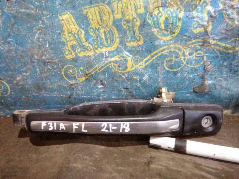 Ручка двери внешняя Mitsubishi Diamante F31A 6G73 1995 передняя левая