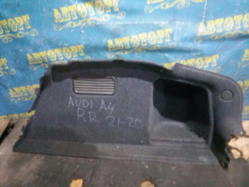 Обшивка багажника Audi A4 8EC BFB 2004 правая