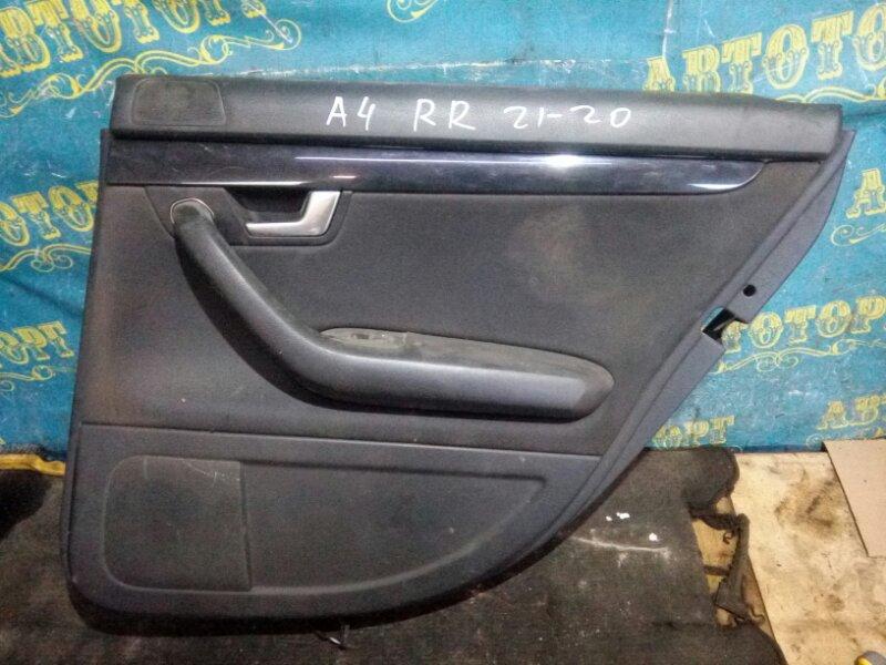 Обшивка дверей Audi A4 8EC BFB 2004