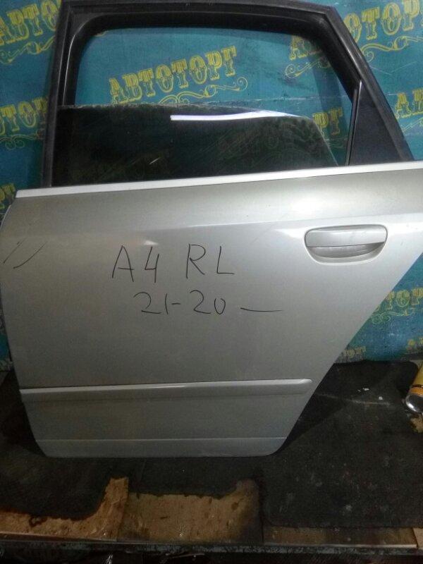 Дверь Audi A4 8EC BFB 2004 задняя левая