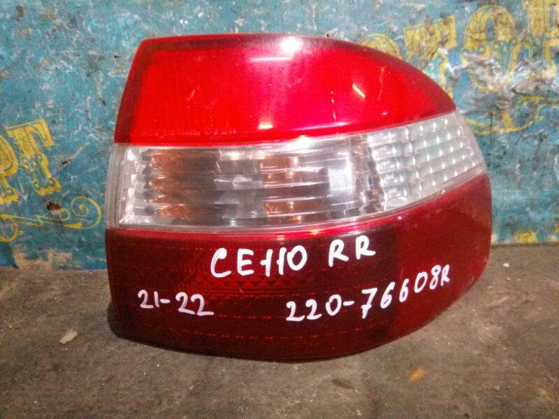 Стоп сигнал Toyota Corolla СЕ110 2С 1997 задний правый