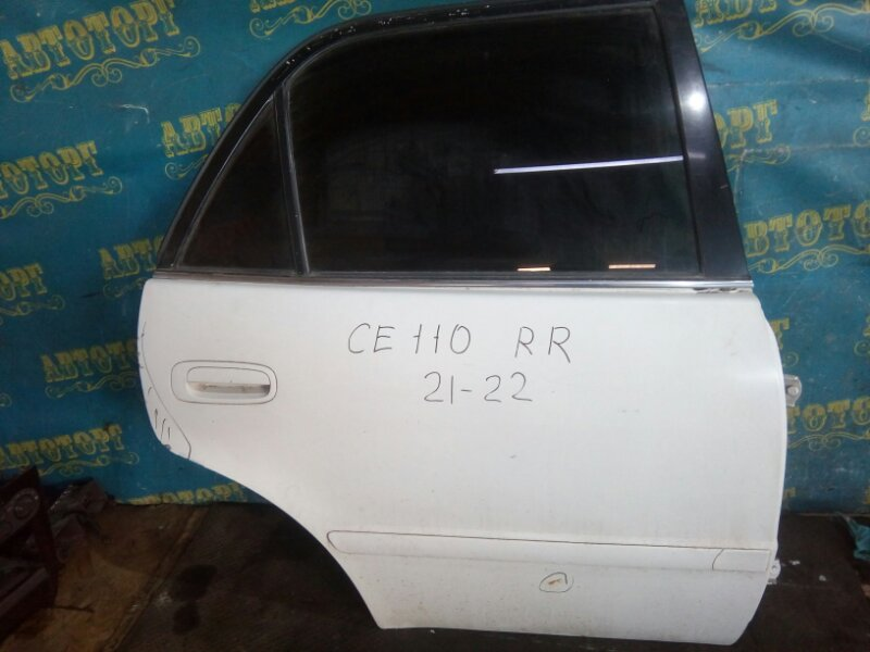 Дверь Toyota Corolla СЕ110 2С 1997 задняя правая