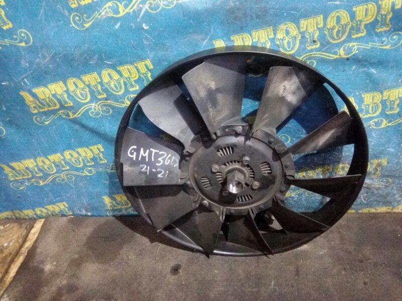 Вентилятор радиатора кондиционера Chevrolet Trailblazer GMT360 LL8 2007