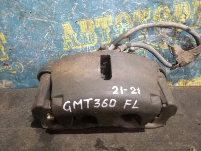 Суппорт Chevrolet Trailblazer GMT360 LL8 2007 передний левый