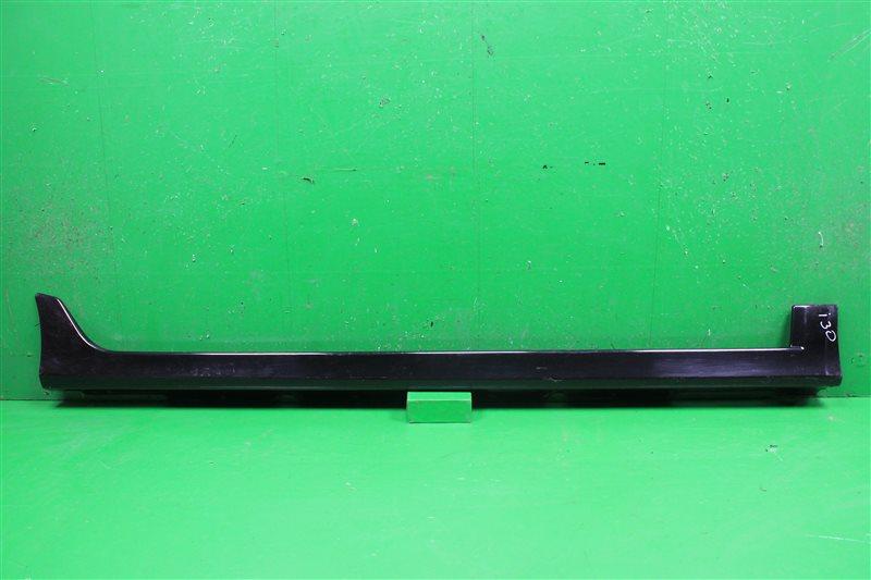 Накладка на порог Hyundai I30 2010 правая (б/у)