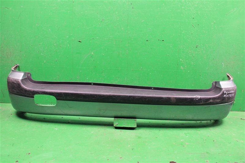 Бампер Hyundai Matrix 2001 задний (б/у)