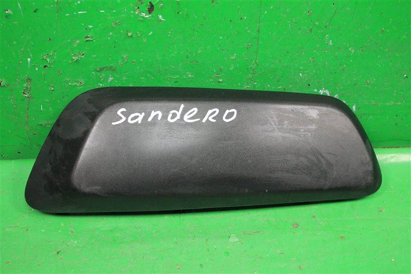 Накладка на бампер Renault Sandero 2 2014 передняя левая (б/у)