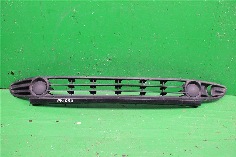 Решетка бампера Lada Priora 2007 (б/у)