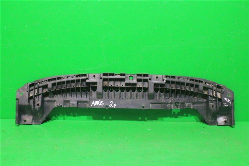 Пыльник бампера (двигателя) Toyota Auris 2 2012 передний (б/у)